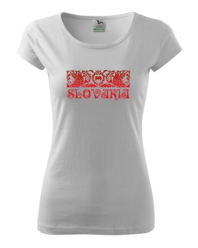 c5acb8217 Textil | Dámske tričko (digitálna tlač, slovakia-vtáčiky) | Obchod ...